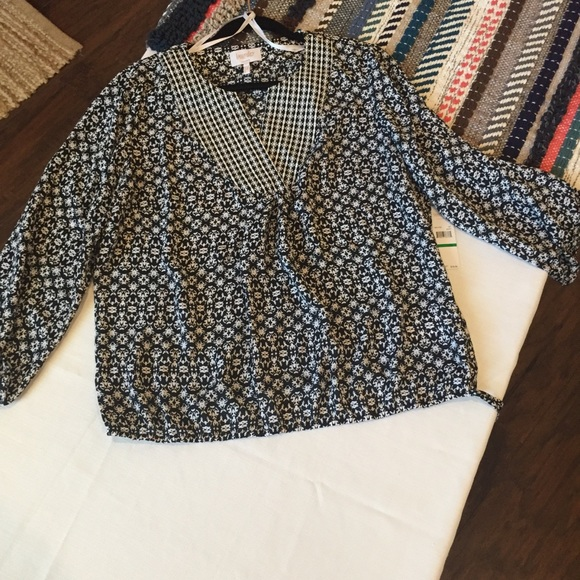 Laundry By Shelli Segal Tops - Laundry by Shelli Segal patterned top